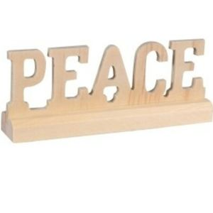 """Peace"" diy decorations"